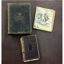 Group of 3 Antique Books