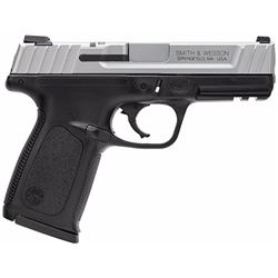 """Smith & Wesson 223900 SD VE Double 9mm 4"""" 16+1 Black Polymer Grip/Frame Stainless Steel"""