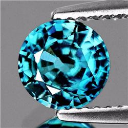 Natural AAA Blue Zircon 3.57 Ct {VVS}
