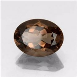 Natural Smoky Topaz Oval 4.39 Carats - VVS