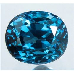 Natural Burma Blue Spinel 1.78 Carats - Untreated - GIA