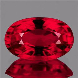 Natural Burma Pigeon Blood Red Spinel 1.11 Ct