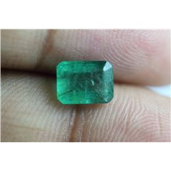 Natural Emerald 1.74 Carats - no Treatment