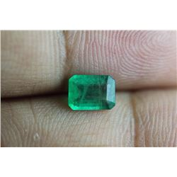 Natural Emerald .83 Carats - no Treatment