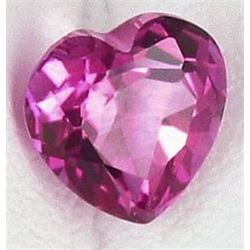 Natural Pink Topaz Heart 13.86 Cts  VVS
