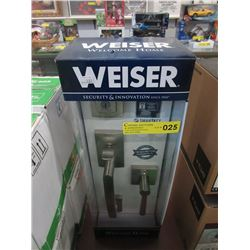 New Weiser Front Entry With Smart Key