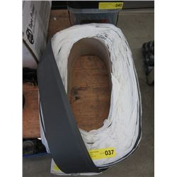 "Large Roll of 4"" Rubber Baseboard"