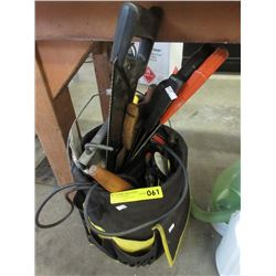 Pail Tool Organizer with Tools