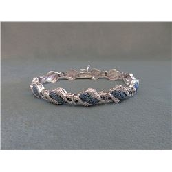 1/4 CT Diamond Studded Bracelet
