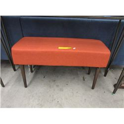New Fabric Upholstered Bench
