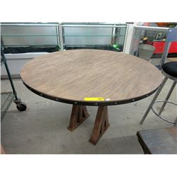 New LH Imports Round Dining Table