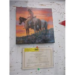 Limited Edition Howard Terpning Giclee Canvas