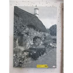 Canvas  Wall Art of an English Cottage