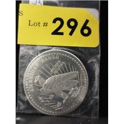 1 Oz. Eagle/Liberty .999 Silver Round