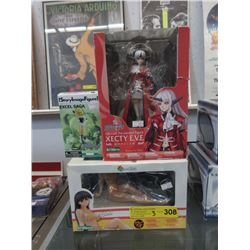 3 Anime Collectibles