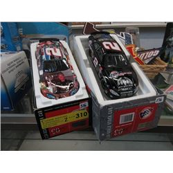 2 Scale Model Stock Cars - 1:24 Scale