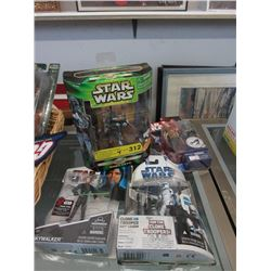 4 Star Wars Figurines in Original Boxes