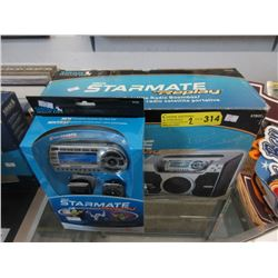 Sirius Starmate Replay Boom Box