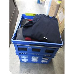 One Crate of Assorted New Clothing