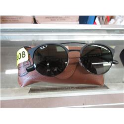 New Ray Ban Polarized Sunglasses with Brown Case