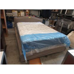 New Queen Size Upholstered Bed Frame