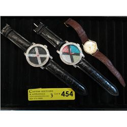 Lot of 3 Assorted As-Is Watches - Need Repair