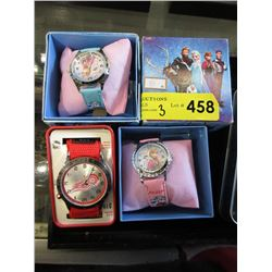 1 New NHL and 2 New Disney Frozen Watches