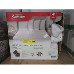 Sunbeam Queen Heated Mattress Pad