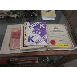 1957 Canadian Army Certificate & More