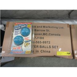 Large Case of Dryer Ball Sets