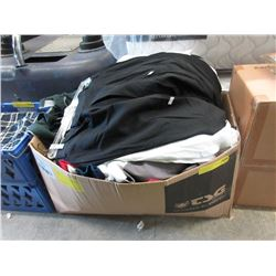 Large Box of Assorted New Clothing
