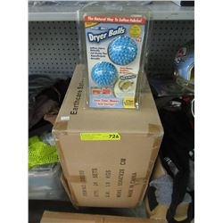 Case of 24 New Dryer Ball Sets