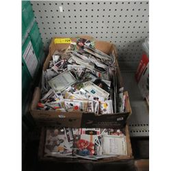 2 Boxes of Assorted Sports & Other Trading Cards