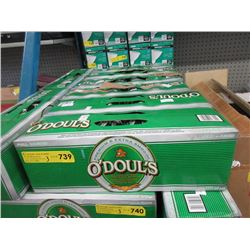 3 Cases of O'Doul's Dealcoholized Beer