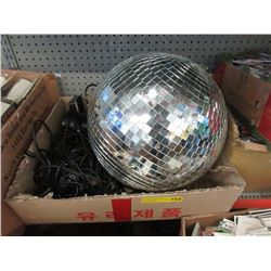 "18"" Disco Ball & 3 Microphones"