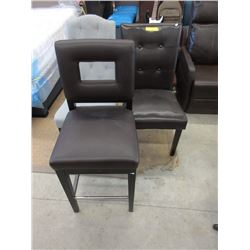 1 Counter Height & 2 Dining Chairs