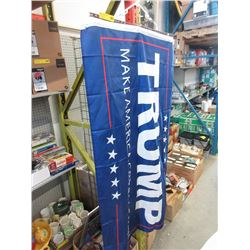 "New Trump ""Make America Great Again"" Flag"
