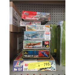 7 Airplane Model Kits