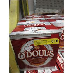 4 Cases of O'Doul's Amber Dealcoholized Beer