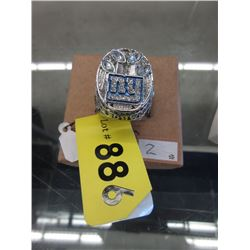 2011 N.Y. Giants World Championship Ring - Replica
