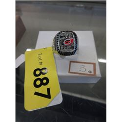 2006 Carolina Hurricanes Stanley Cup Ring Replica