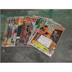 Nine 12¢ - 15¢ Comics - Bagged and Carded