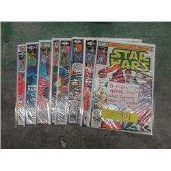 8 High Grade Star Wars Comics from the 1st Series