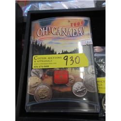 Canadian Year 2000 Uncirculated Coin Set