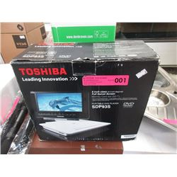 "Toshiba 9"" Portable DVD Player"