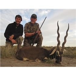 5 Day Blackbuck & Ram Hunt for 3 hunters in La Pampa, Argentina. March  to May 2019. Full lodging &