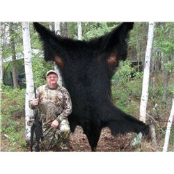 7 Day Black Bear Hunt for 2 hunters in Fairbanks, Alaska. Trip includes 2 bears per hunter and a thi