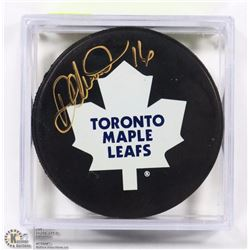 TORONTO MAPLE LEAFS DARCY TUCKER SIGNED HOCKEY