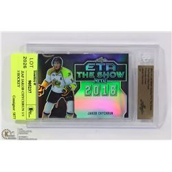 2015-16 LEAF JAKOB CHYCHRUN 1/1 INCASED HOCKEY