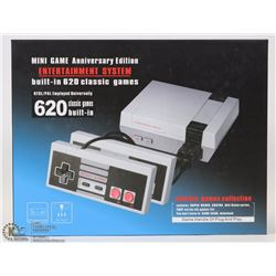 NEW ANNIVERSARY EDITION 620 BUILT IN GAMES CONSOLE